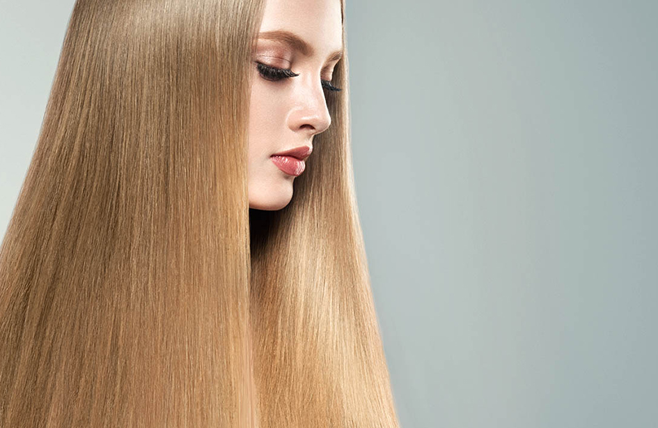 صاف کردن موهای سر